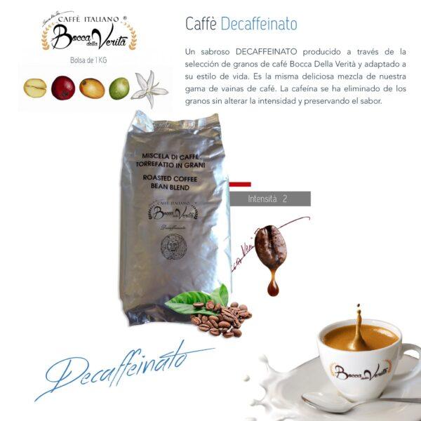 Café Descafeinado: la cafeína se elimina del grano sin alterar su intensidad