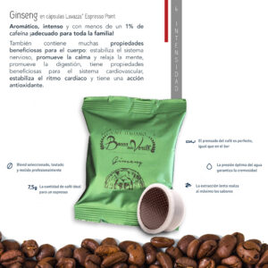 Café Ginseng dulce para Lavazza Espresso Point
