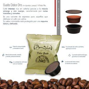 Descripción de Café Gusto Dolce Lavazza A Modo Mio