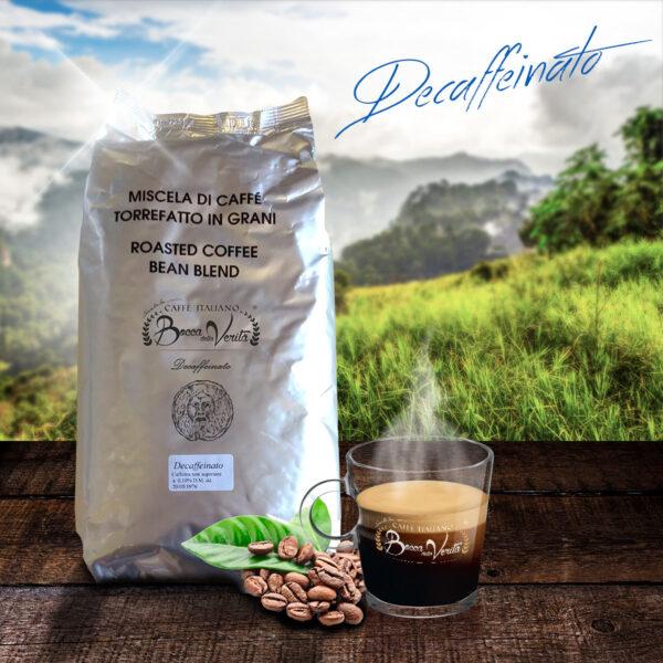 Composicion Café Descafeinado en campo
