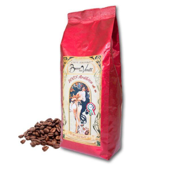 Diseño fondo café puro arábica de 1 kg