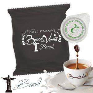 Cialda Brasil ESE 44 mm - Café italiano Bocca della Verità