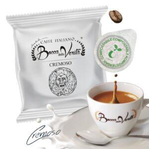 Cialda Cremoso ESE 44 mm - Café italiano Bocca della Verità