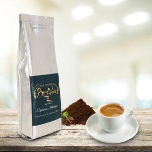 Taza de café molido Espresso Italiano 250 gr.