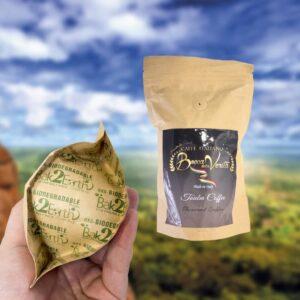 Diseño Touba Coffee biodegradable